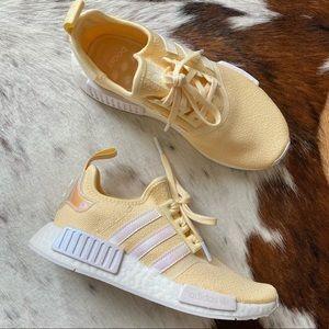 Adidas NMD R1 Sneakers Sunflower Yellow Iridescent